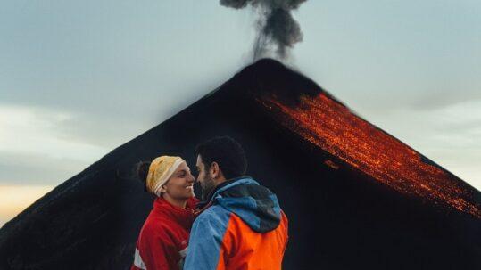 Γουατεμάλα ταξίδι ηφαίστειο